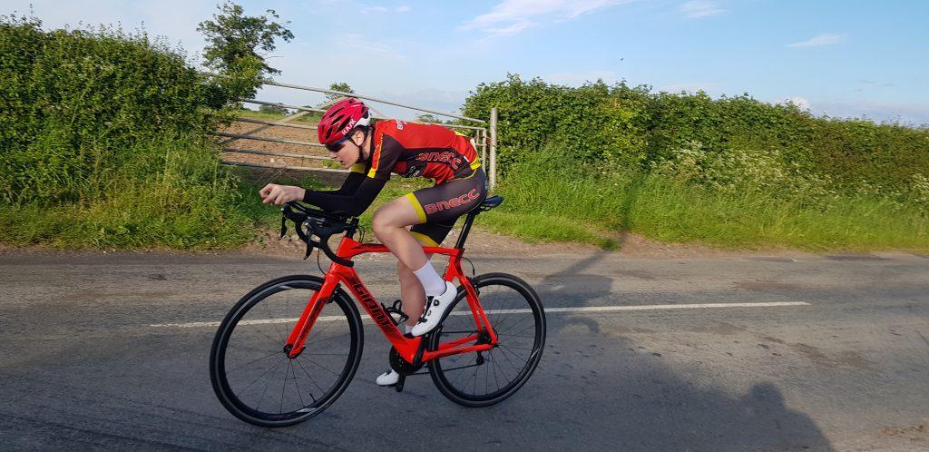 Max Jones riding at Saighton